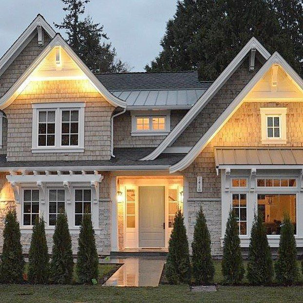 Exterior Home Styles: Craftsman Shingle Style...a Favourite Design From Last