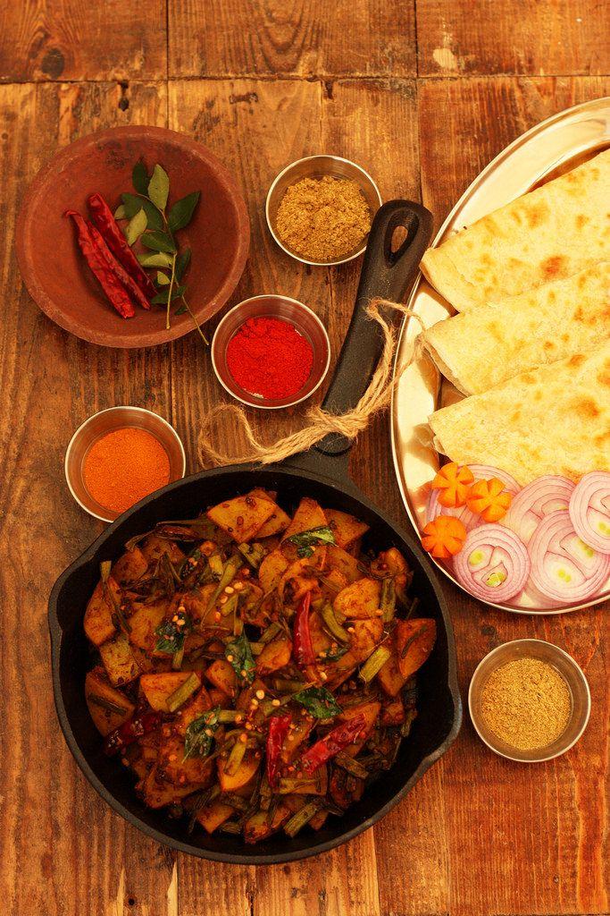 Aloo-Guvar Subji Recipe   Spicy Potato
