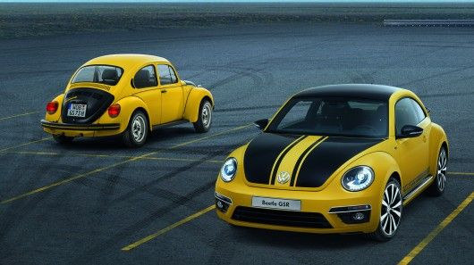 Unveiled at the Chicago Auto Show, Volkswagen's 2013 GSR Beetle, like its 40 year old predecessor, will enjoy a limited run of only 3,500 when released into the world this May.