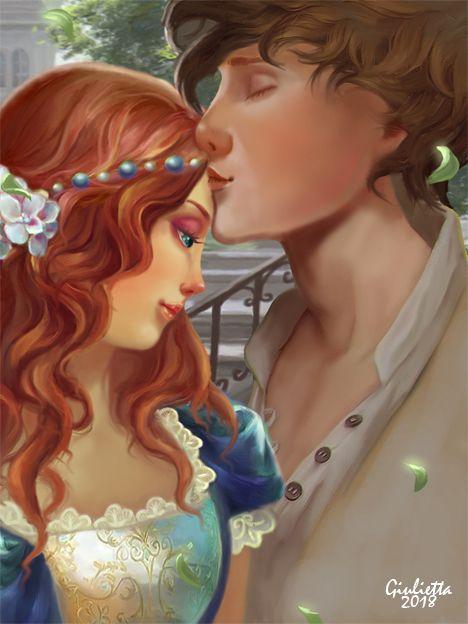 Просмотреть иллюстрацию Ромео и Джульетта из сообщества русскоязычных художников автора Giulietta в стилях: 2D, Компьютерная графика, нарисованная техниками: