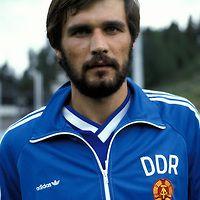 20.08.1986, Urheilukeskus, Lahti, Finland. Friendly International match, Finland v East Germany..Dirk Stahmann - DDR.©Juha Tamminen