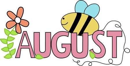 Free Month Clip Art | Month of August Summer Clip Art ...