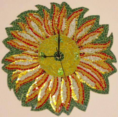 Complementi d'arredo - orologio girasole