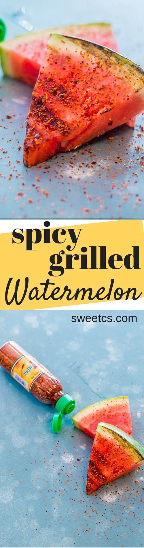 Spicy Grilled Watermelon | Recipe | Spicy, Watermelon and Summer