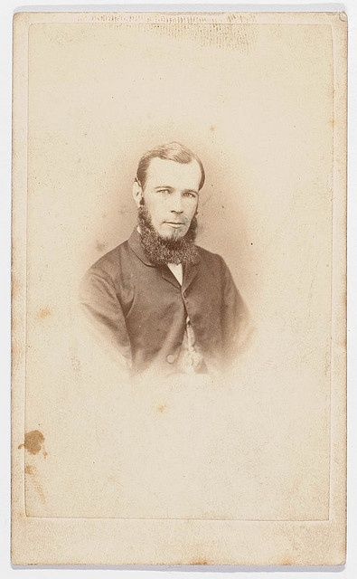 David Scott Mitchell, from album c. 1863-1892, by unknown photographer    From the collection of the State Library of New South Wales: http://www.sl.nsw.gov.au