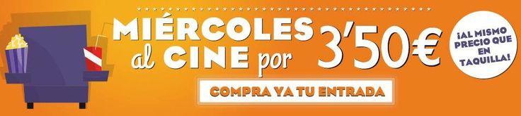 Y por fin vuelve a ser #miércoles y con él nos vamos al #cine en tu #CCPlazadeArmas por tan solo 3,50€ !