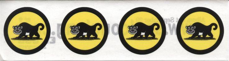 Soul Coughing El Oso Monkey Sticker Sheet