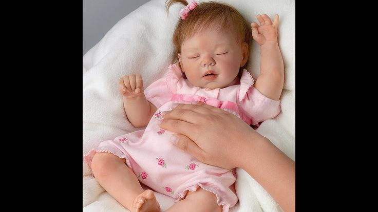 ''Ashton Drake'' So Truly Real Baby Doll Beautiful Dreamer