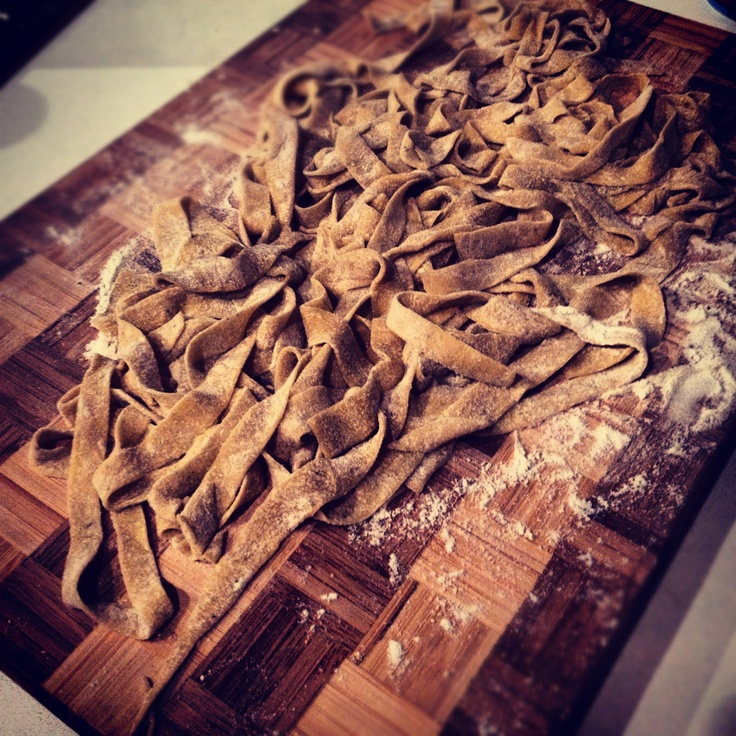 pasta with pepper and juniper noodles now