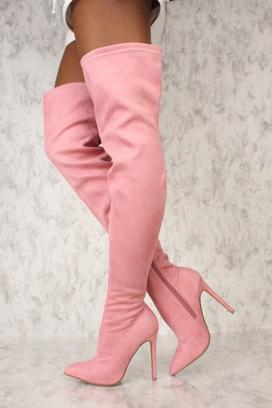7cd9feec23dbe These boots are the perfect go to with a cute outfit for a night out with  the girls! Featuring  faux suede