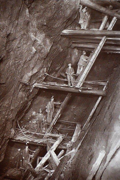 Cornwall coal mine 1890