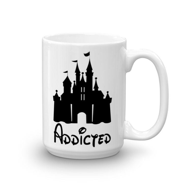 "Disney ""Addicted"" Mug"
