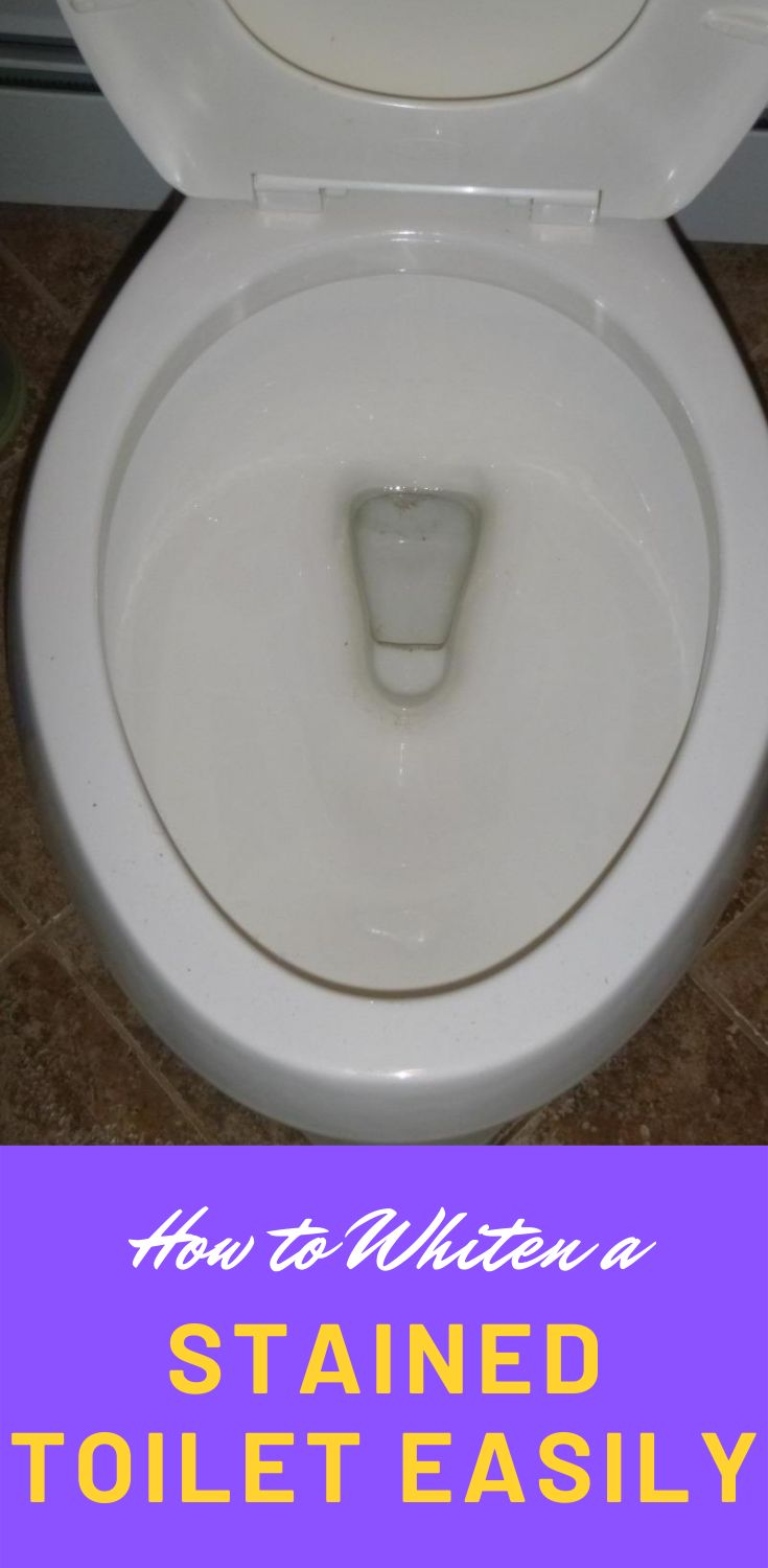 How to remove toilet stains and rings toilet stains