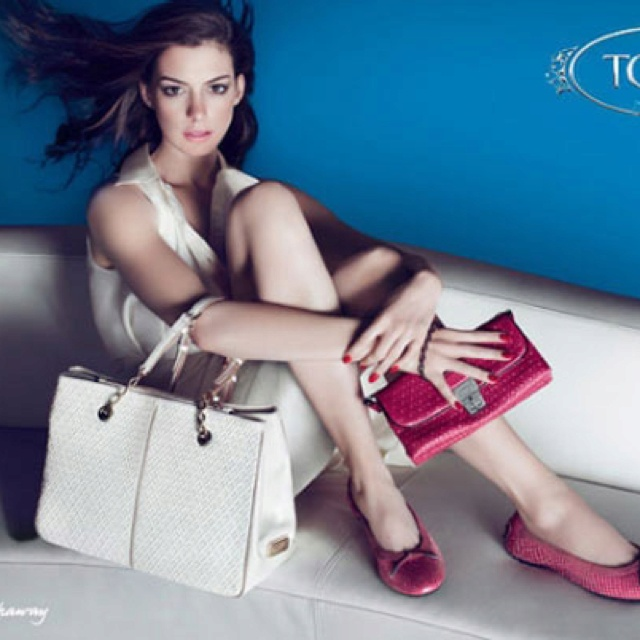 Tod's by Anne Hathaway