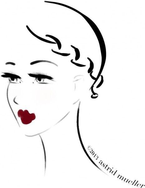 Best 25+ Fashion illustration face ideas on Pinterest