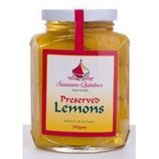 Preserved Lemons 375g by Suzanne Quintner buy online at Jo-Ann & May's Online Gourmet Food www.jomaysgifthampers.com.au