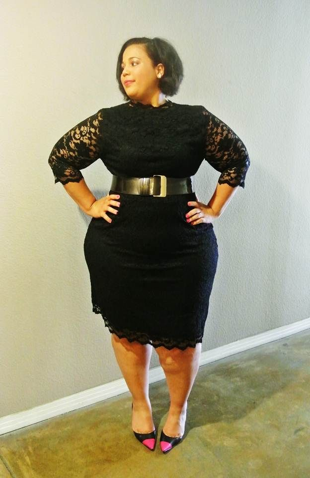 The Hips don't lie - The Curvy Girl's Guide to Style - Kiyonna lace dress