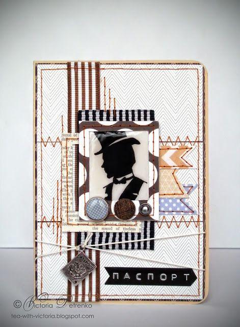 Обложка на паспорт для мужчины