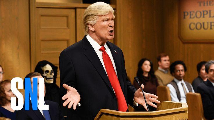 It's President Donald Trump (Alec Baldwin) versus the Ninth Circuit Court judges (Kyle Mooney, Vanessa Bayer, Pete Davidson) on a new People's Court. Get mor...