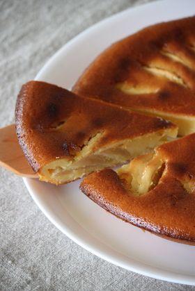 りんごのヨーグルトケーキ♪