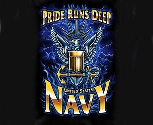 Navy Pride Runs Deep