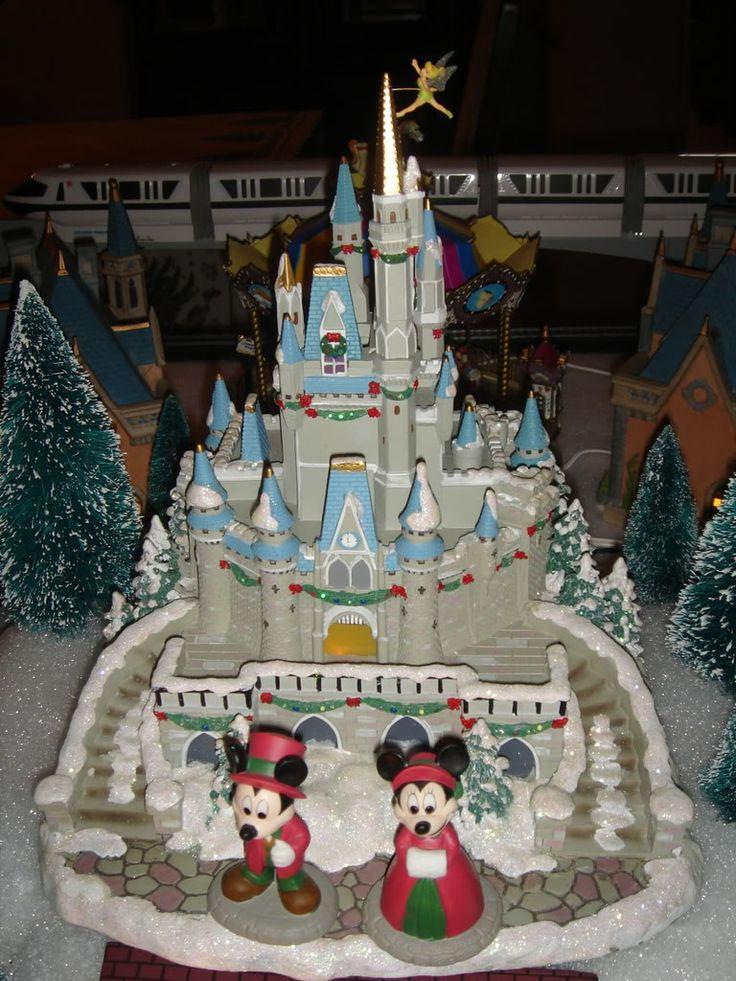 78 Best Disney Christmas Village Images On Pinterest