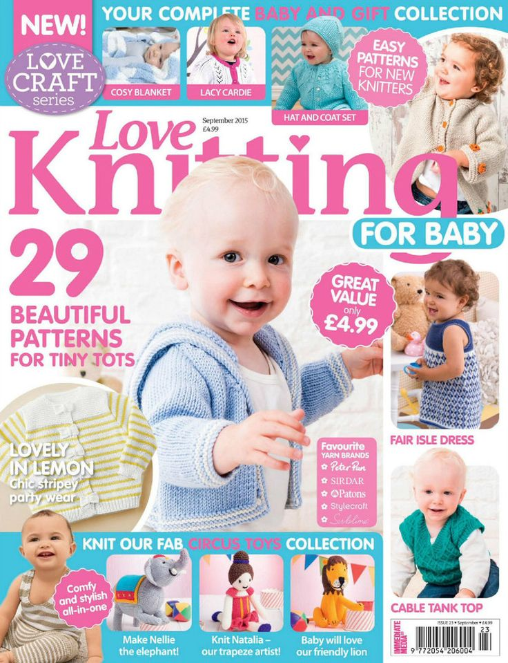 Love Knitting For Baby, September 2015