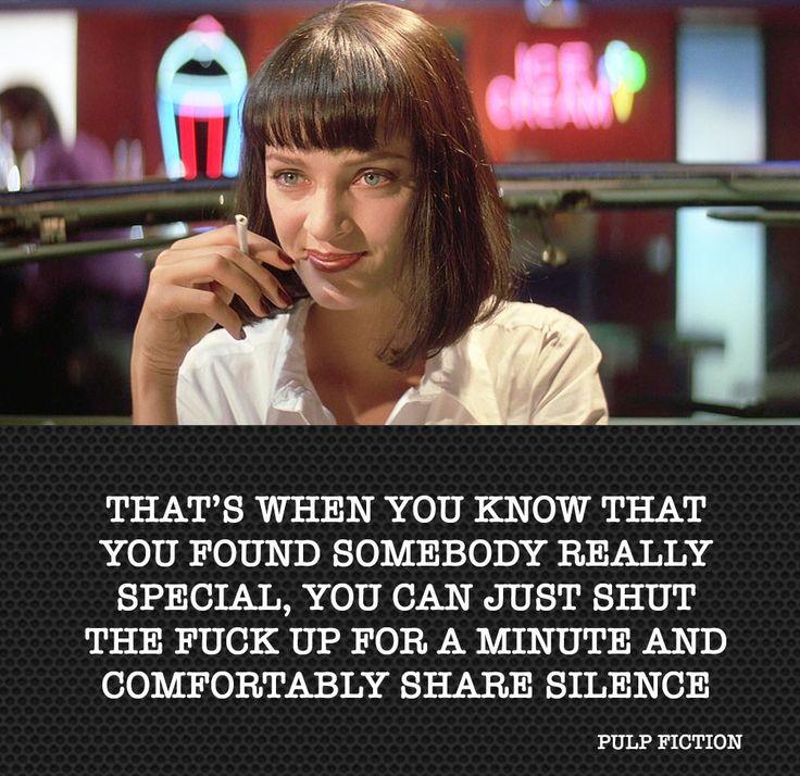 Pulp Fiction Quote Citation By Me