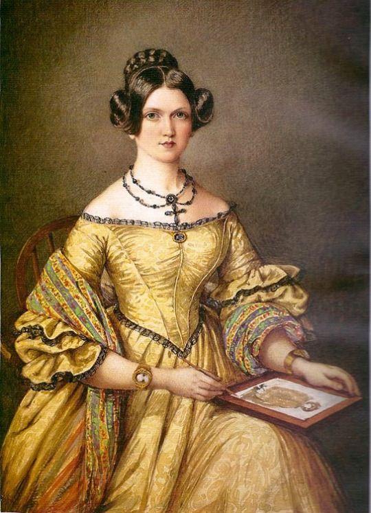 1839 Mary Ellen Best - Self-portrait