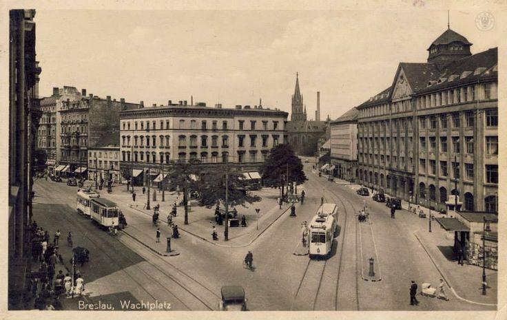 Wachtplatz (pl. Solidarności). Lata 1938-1943.
