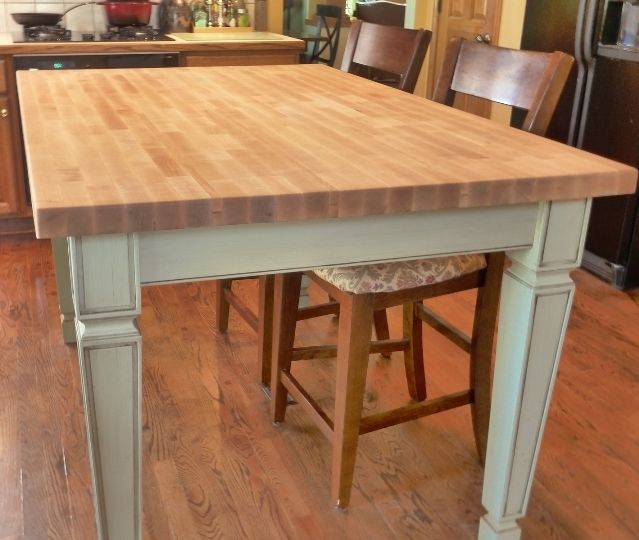 butcher block dining table price diy and chairs ideas minimalist kitchens room furniture style kitchen