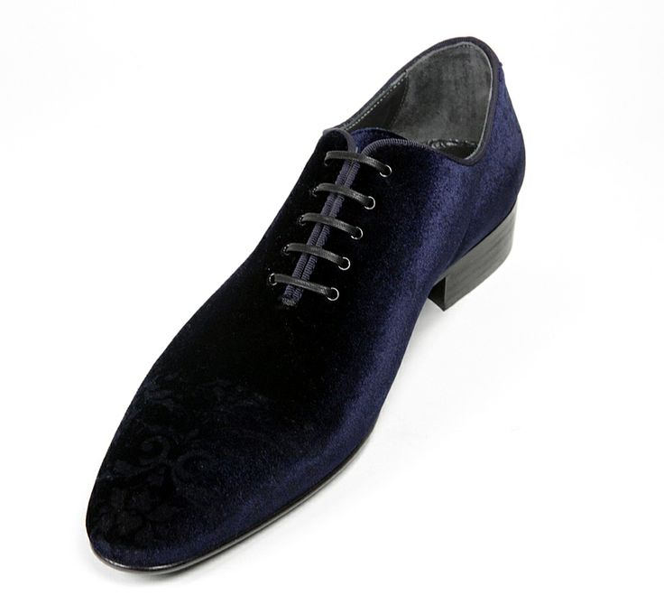 006 Rina's #Couture - #Men's #Velour & #Leather #Shoe  $395 or Make an Offer   http://www.rinastore.com/006-rinas-couture-shoes:-dark-blue/dp/5925  Rina's Boutique's own brand. Made in #Italy.
