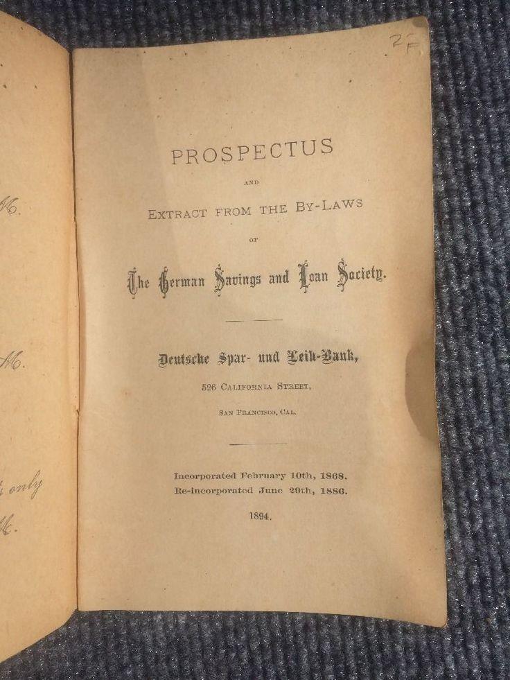 Book prospectus