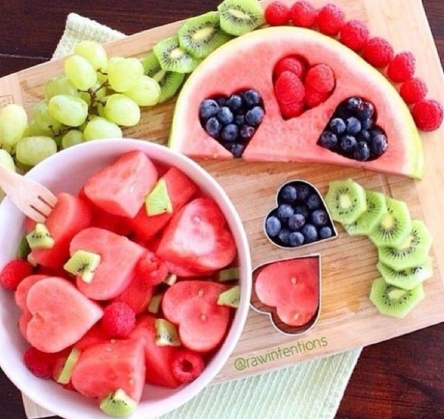 Valentine's Day; ladies tea/bridal or baby shower.  Fruit salad ❤️