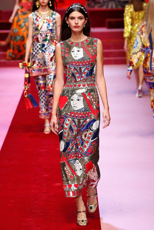f044a49cce126 Dolce Gabbana Milao - Verao 2018 foto  FOTOSITE   Fashion in 2018 ...