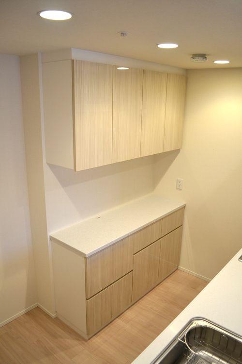 食器棚 サイズ W1500 D350 450 H2200 家具本体税抜き価格 326 000