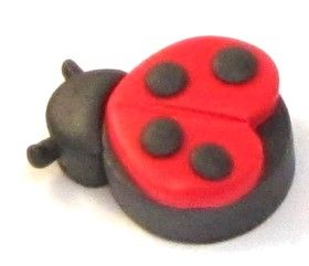 How to make Polymer Clay - Valentines Day Love Bug - DIY Craft Project with instructions from Craftbits.com