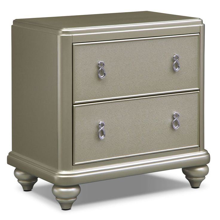Need to see in person - Would compromise and buy something less stunning for our bedroom depending what our options are for the rest of the house.  Bedroom Furniture - Serena Nightstand
