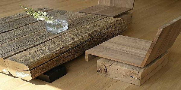 Wood Outdoor Coffee Table