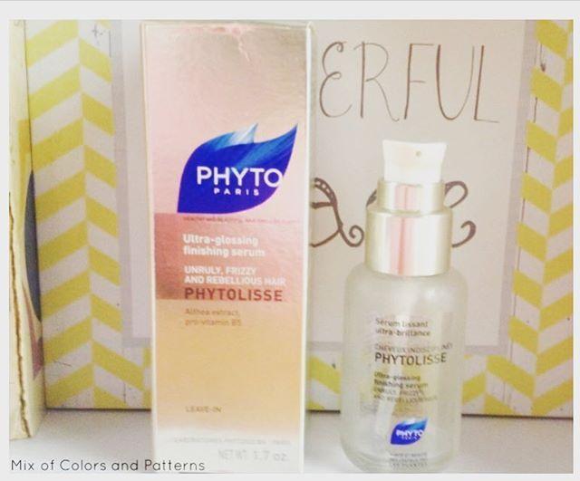 http://mixofcolorsandpatterns.blogspot.pt/2016/06/phyto-phytolisse-sarum-alisador.html#hojenoblog #todaysonblog #review #phyto #instabeauty #blogger #beautyblogger #phytoparis #hair #serum #mixofcolorsandpatterns