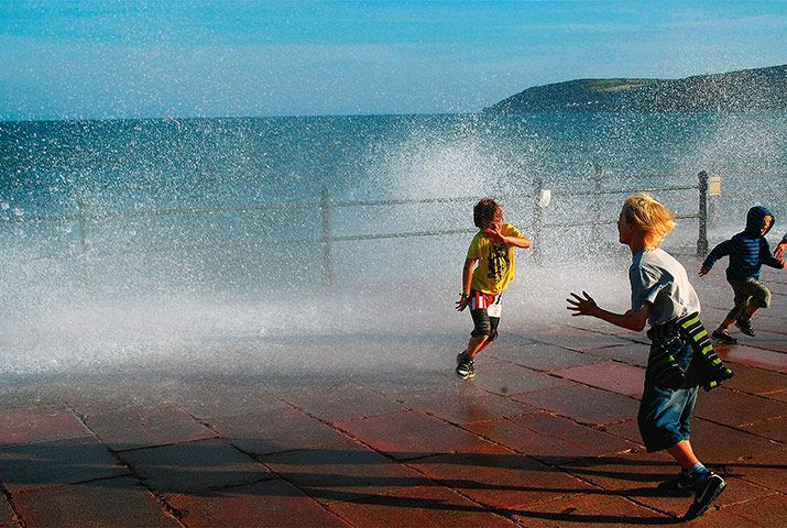 In pictures: Wet: Penzance