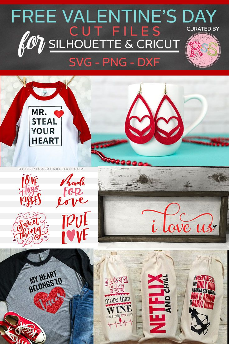 Free SVG Cut Files For Valentine's Day