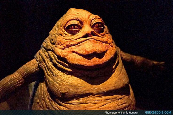 Jabba le Hutt la grosse limasse mafieuse qui nest pas très belle et qui me fait presque peur