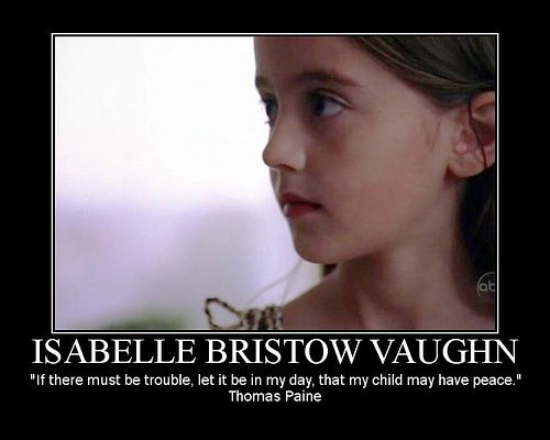 Isabelle Bristow Vaughn by foothill1976, via Flickr - Yup! Sydney would agree. #Alias