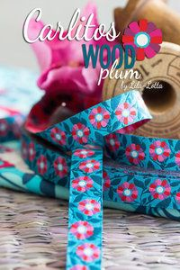 Ribbon Carlitos WOOD plum - http://www.stationeryheaven.nl/ribbons