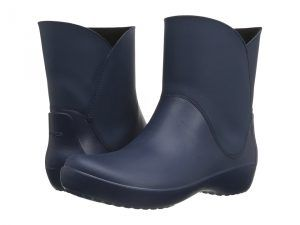 Crocs RainFloe Bootie (Navy) Women's Boots