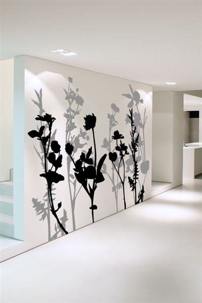 Floral Tree 2 Wall Decal By Walltat Com Covers An 8ft X 10ft