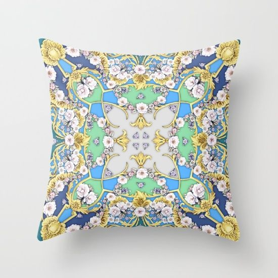 #cushion #society6 #pillow #floral