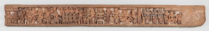 Portion of a temple frieze | INDIAN | NGV