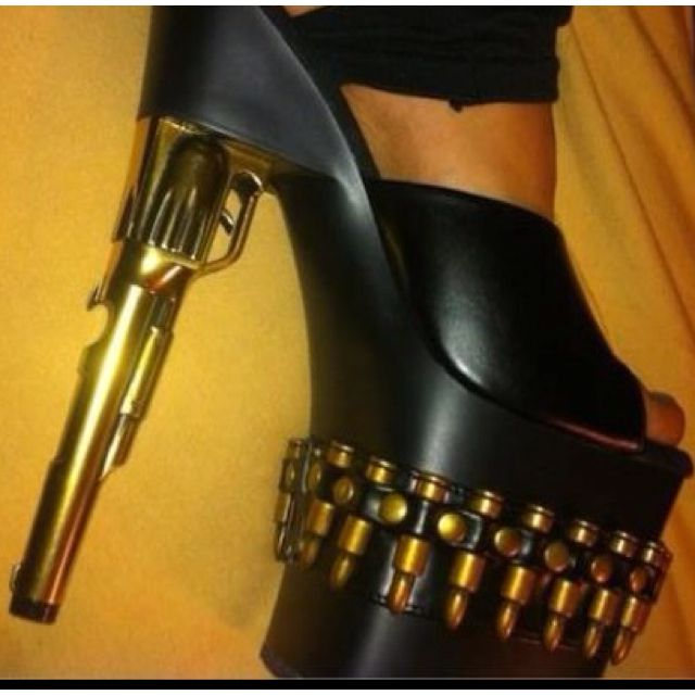 These shoes are crazy wild!
